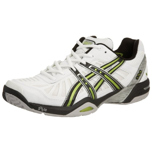 Asics Men's Gel-Resolution 2 Court White/Black/Lime E900Y0190 7 UK