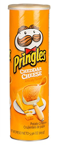 Pringles Chips - Cheddar Cheese - 5.96 oz (Pringles Cheese Chips compare prices)