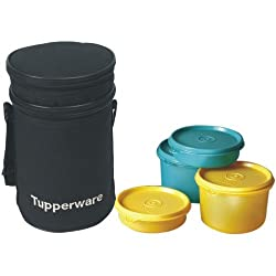 Tupperware Executive Lunch Set with Bag, 4-Pieces (186B)