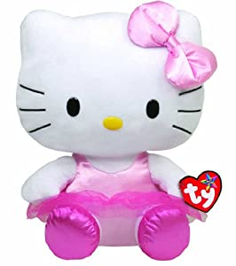 Ty Beanie Buddy Hello Kitty - HELLO KITTY - Ballerina (Medium)