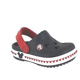 crocs 14609 CB Mickey 3 Clog (Toddler/Little Kid),Navy/Red,2 M US Little Kid