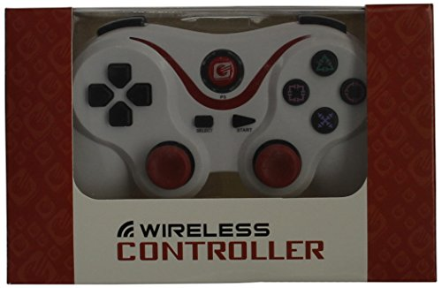 [Upgraded Version]Ultra-comfort White & Red Wireless