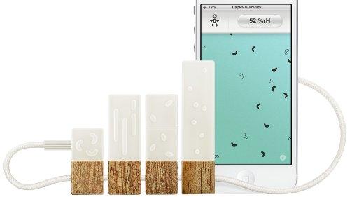 Lapka Organic/EMF/Humidity/Radiation Detektor Set für Apple iPhone/iPad/ipod touch