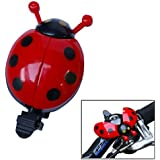 Cute Ladybug Shape Red Beetle Mode Bicycle Bell Bike Accessory