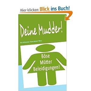 eBook Cover für  Deine Mudder die schlimmsten quot Deine Mutter quot Witze