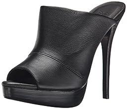 Joie Women\'s Raja Mule, Black Leather, 38.5 EU/8.5 M US