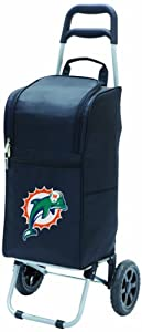 Picnic Time Black NFL Cart Cooler by Picnic Time