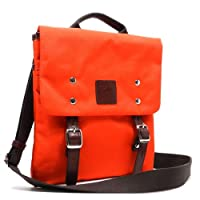 Designer blan_c Belt Canvas flap over I Pad Cross-Body messenger handbag Bag