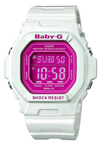 Baby-G Pink and White Digital Ladies Watch BG-5601-7ER