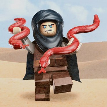 Hassansin (Zolm) - LEGO Prince of Persia Minifigure - 1