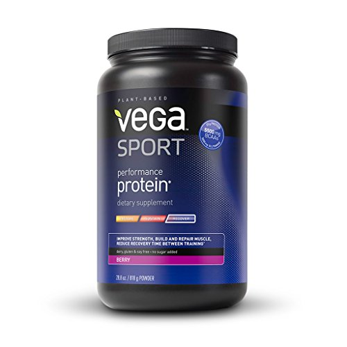 Vega Sport Performance Protein, Berry, Tub, 29 Oz front-638512