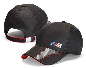 Bmw Genuine Embossed Bmw M Logo Light Resistant Cap Hat Anthracite Black by BMW