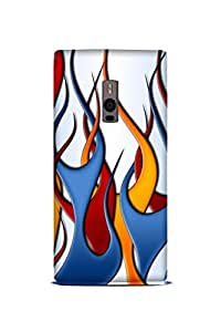 OnePlus One Perfect fit Matte finishing Color Illustration Mobile Backcover designed by Abaci(Multicolor)