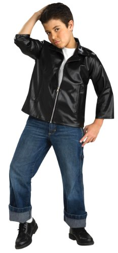 Flirting with The 50's Child Greaser Jacket, Medium