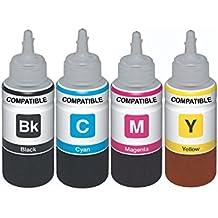 Skrill Epson Refill Ink Set For Epson Printers L100, L110, L130, L200, L210, L220, L300, L310, L350, L355, L360...