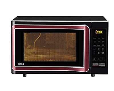LG MC2844SPB 28-Litre Convection Microwave Oven (Black)