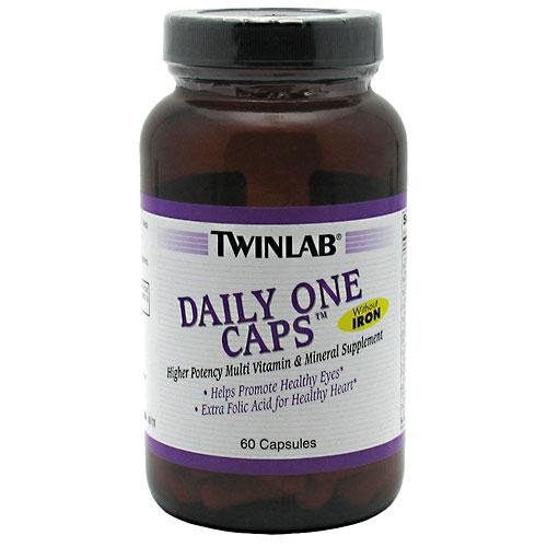 Twinlab Daily One Without Iron, 60 Capsules