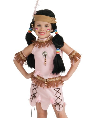 Deluxe Child Princess of The Dawn Native American Costume