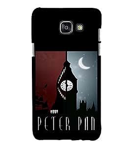 EPICCASE Peter Pan Mobile Back Case Cover For Samsung Galaxy A3 (2016) (Designer Case)