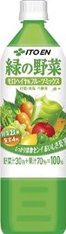 伊藤園 緑の野菜 20種の野菜と4種の果実モロヘイヤ&果実ミックス 930g×12本