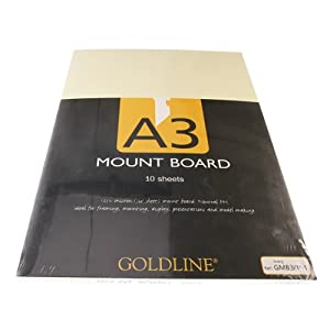 Mountboard A3 Ivory - 10pk