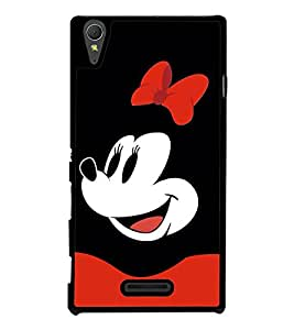 Popular Cartoon Character 2D Hard Polycarbonate Designer Back Case Cover for Sony Xperia T3