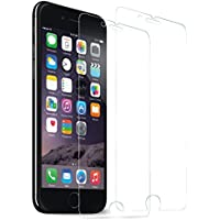 2-Pack SOWTECH Premium Tempered Glass Screen Protector Film for iPhone 7