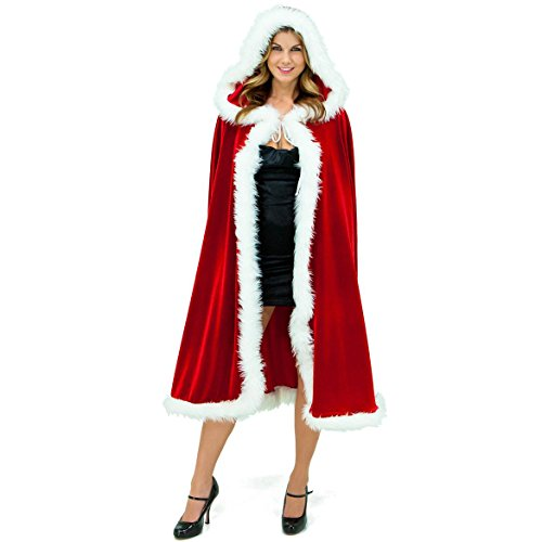 Group Christmas Day Cosplay Women Costumes, the Glamour Witch Cloak Costume