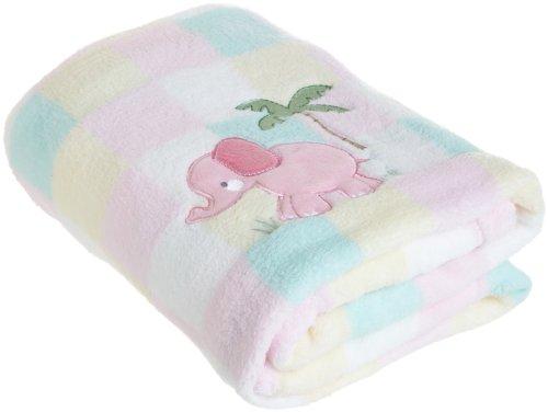 My Baby Elephant Design Plush Blanket front-535939