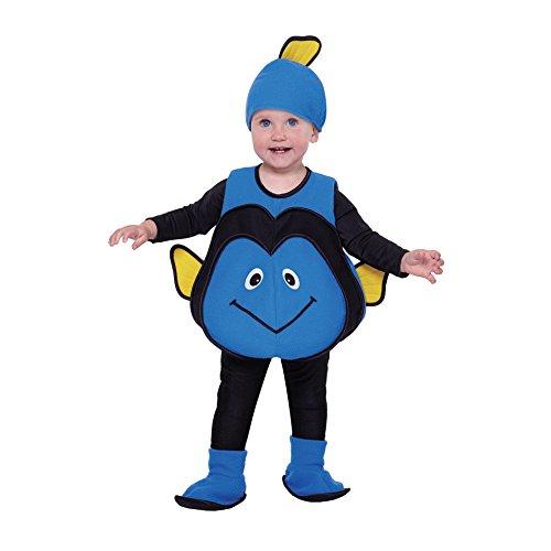 Blue Fish Vest Toddler