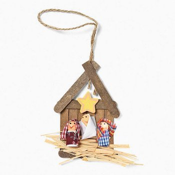 Nativity craft kits for kids available from Amazon.com