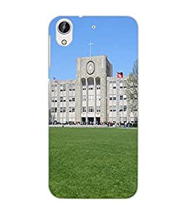 HTC DESIRE 626 S BUILDING Back Cover by PRINTSWAG