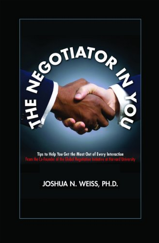 The Negotiator in You: Tips to Help You Get the Most Out of Every Interaction (Blu Advantage Phone compare prices)