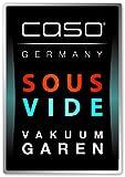 CASO VC 10 Vakuumierer (1340) / 30 cm lange Schweißnaht / natürliches Aufbewahren ohne Konservierungsstoffe / inkl. 10 gratis Profi-Beutel -