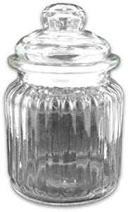 Glass jar display-Package Quantity,12
