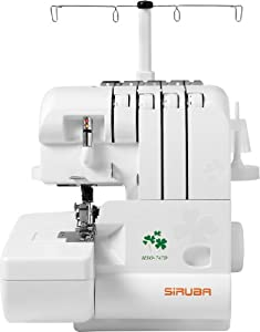 Siruba Hso-747d 4 Thread Overlock Serger Sewing Machine by Siruba Kaulin