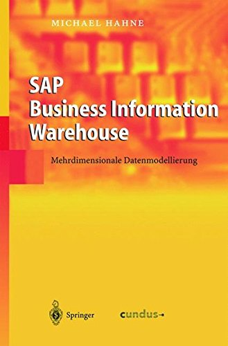 SAP Business Information Warehouse: Mehrdimensionale Datenmodellierung  [Hahne, Michael] (Tapa Dura)