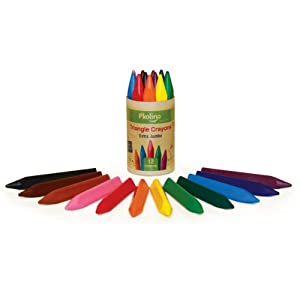 Triangular Crayons Extra Jumbo (12 colors)