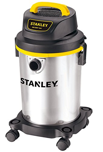 Stanley Wet/Dry Vacuum, 4 Gallon, 4 Horsepower, Stainless Steel Tank (Costco Shop Vac compare prices)