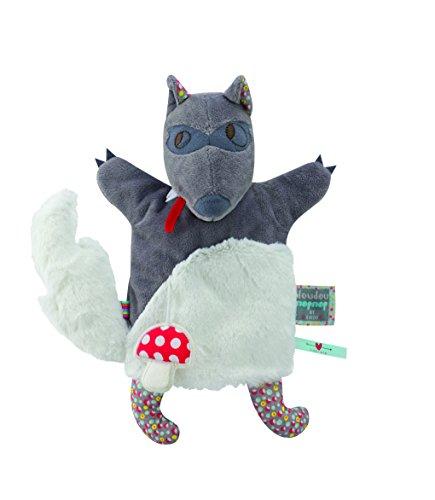 Kaloo - Doudou Nopnop, marioneta lobo (K961415)