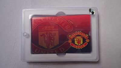 4GB Manchester United Credit Card Style Memory Stick USB 2.0 Flash Drive . Presented In A Gift Box, Ideal Memory Stick For All Red Devil Fans. by NUT
