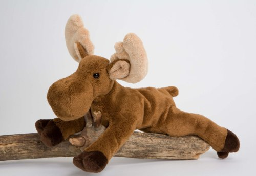 "Mable Moose 9"" by Douglas Cuddle Toys - 1"