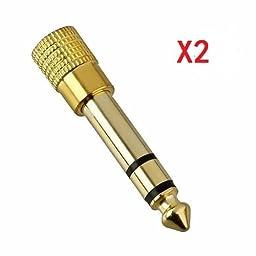 Hooshion® 2PCS 2X 6.5mm 1/4\