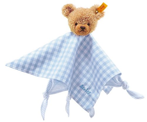 Steiff Sleep Well Blue Bear Comforter 237034