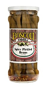 Spicy Pickled Beans from Boscoli Foods