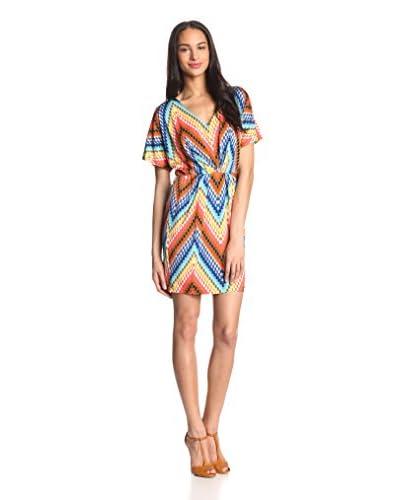Trina Turk Women's Tulip Zigzag Jersey Dress