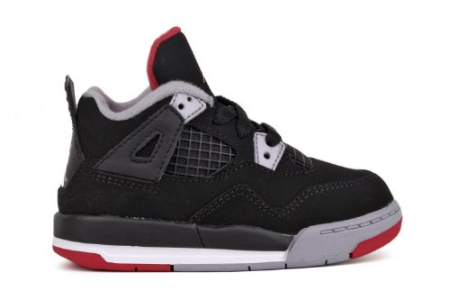 Jordan 4 Retro (TD) Toddler's Basketball Sneaker (308500 089), 10