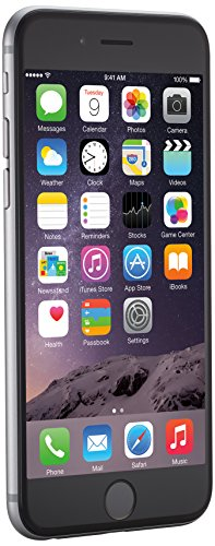 Apple iPhone 6, Space Gray, 16 GB (Unlocked)