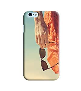 Blue Throat Man Hand With Glares Printed Designer Back Cover/Case For Apple iPhone 6 Plus
