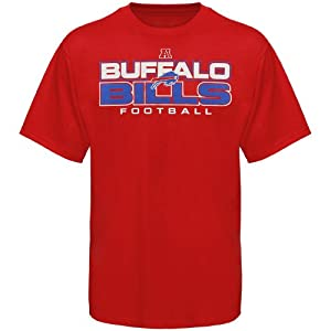 NFL Buffalo Bills All Time Great IV T-Shirt - Red from Nutmeg